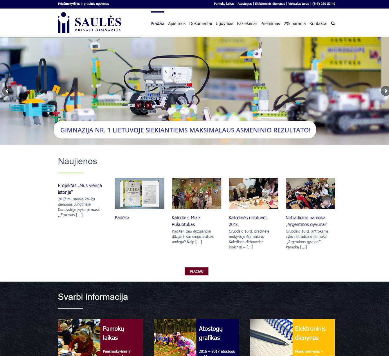 Internetinio puslapio kurimas pamokos